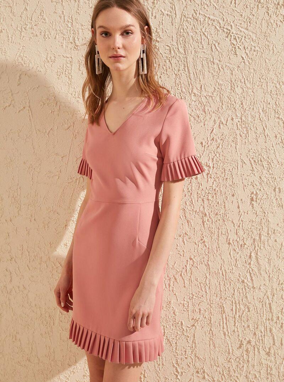 Ružové šaty Trendyol - XL dámské ružová XL