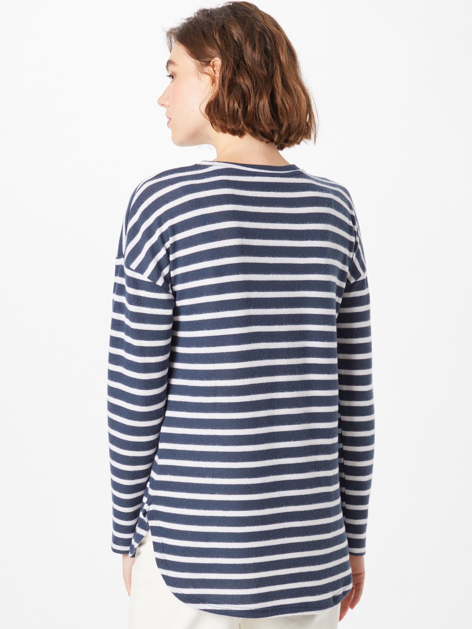 Sublevel Tričko  námornícka modrá / biela dámské XL