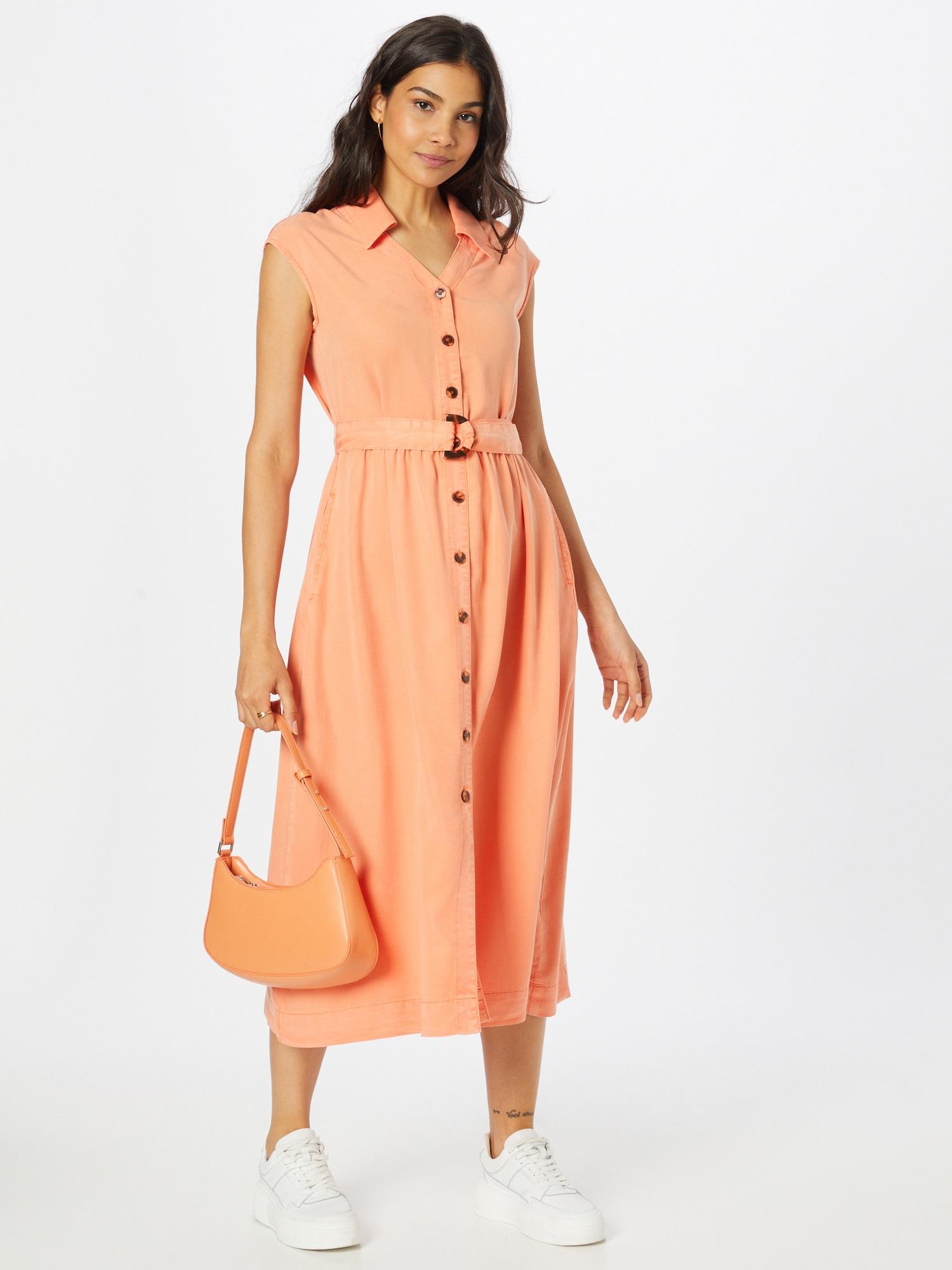 TAIFUN Košeľové šaty  koralová dámské 36