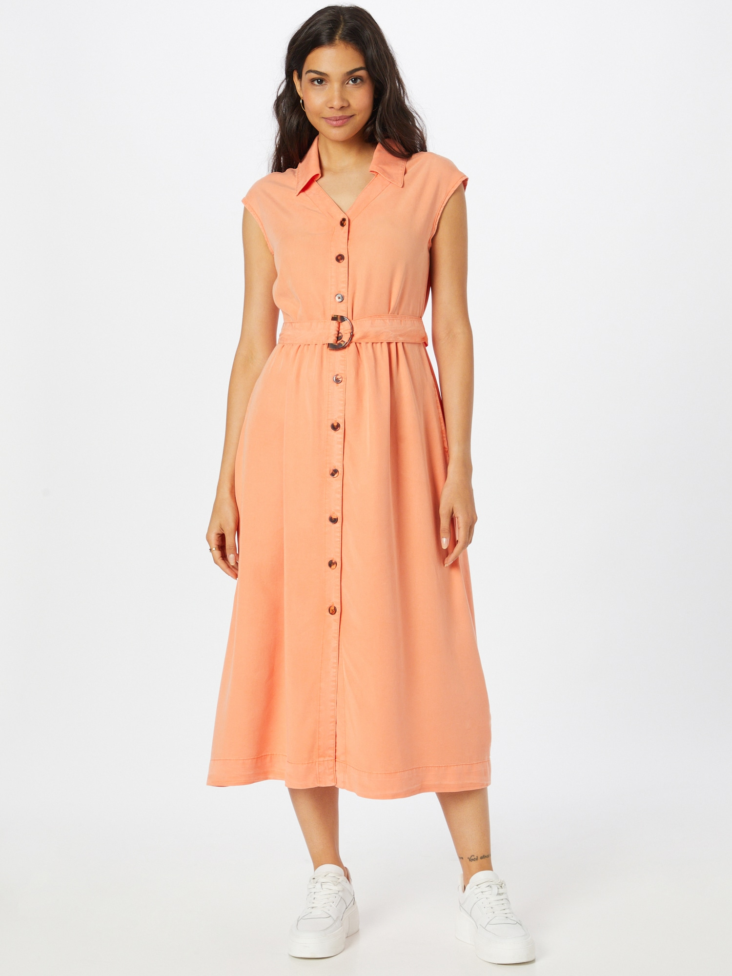 TAIFUN Košeľové šaty  koralová dámské 38