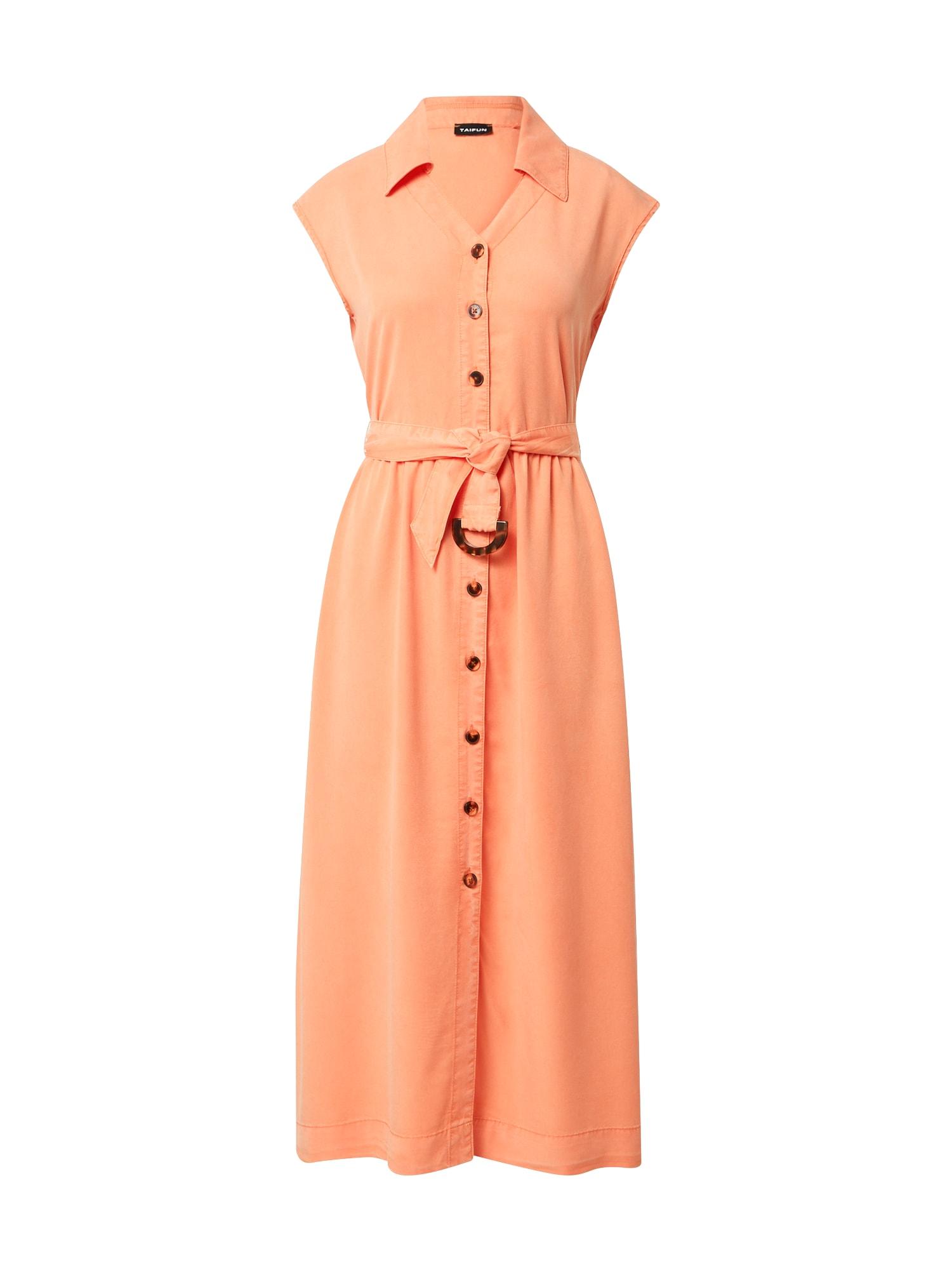 TAIFUN Košeľové šaty  koralová dámské 42