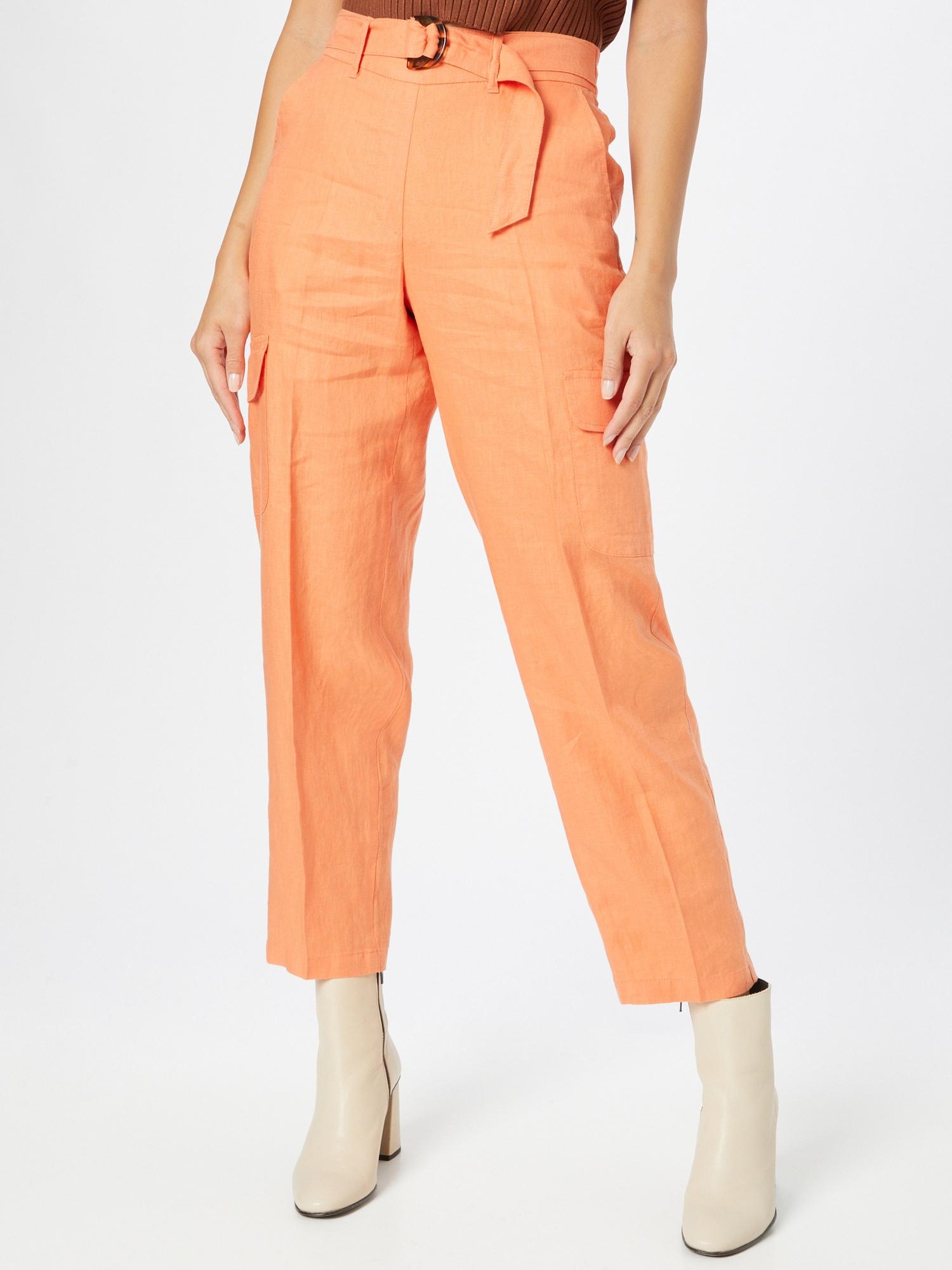 TAIFUN Nohavice  oranžová dámské 46