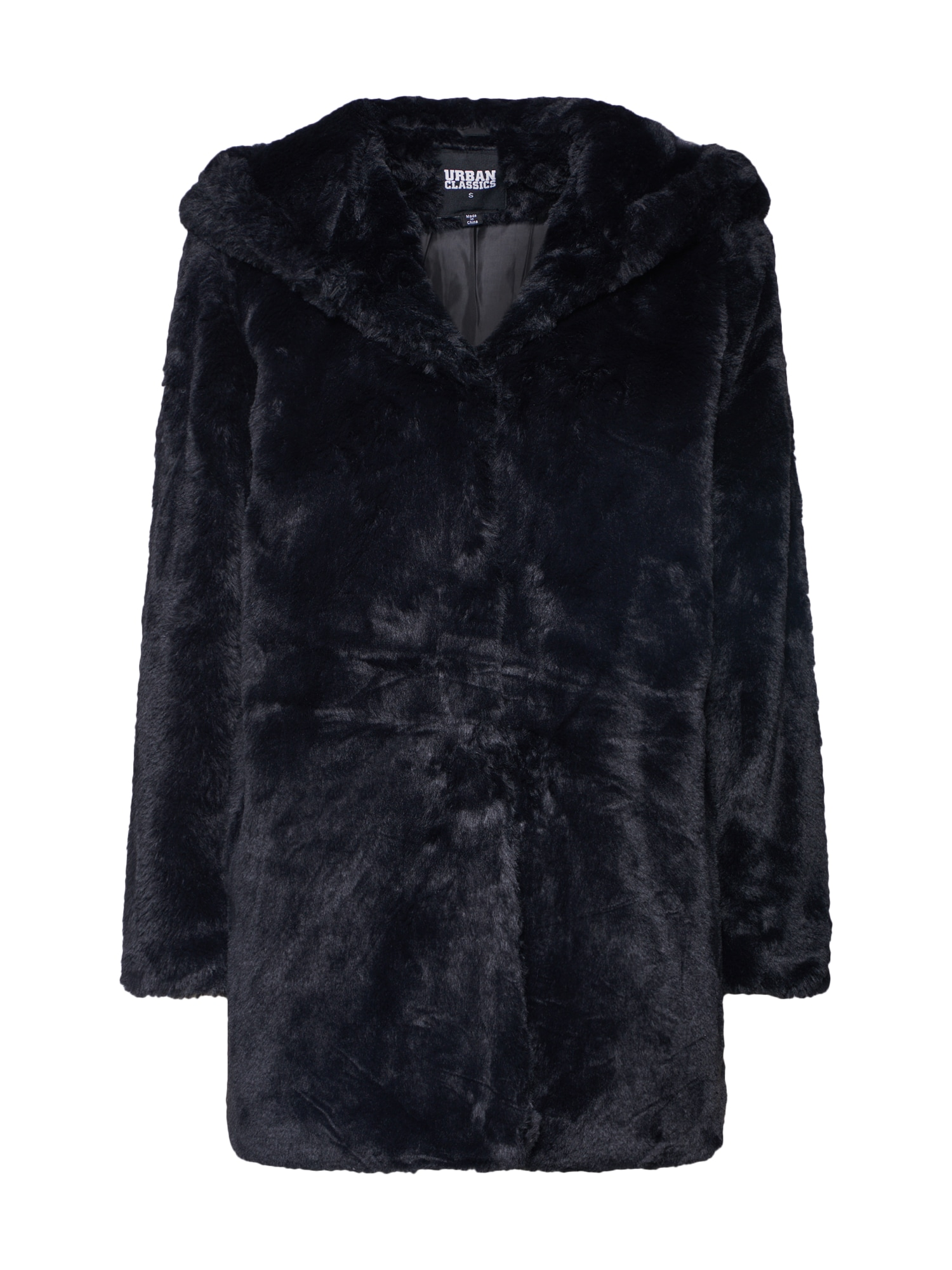 Urban Classics Zimný kabát  čierna dámské L