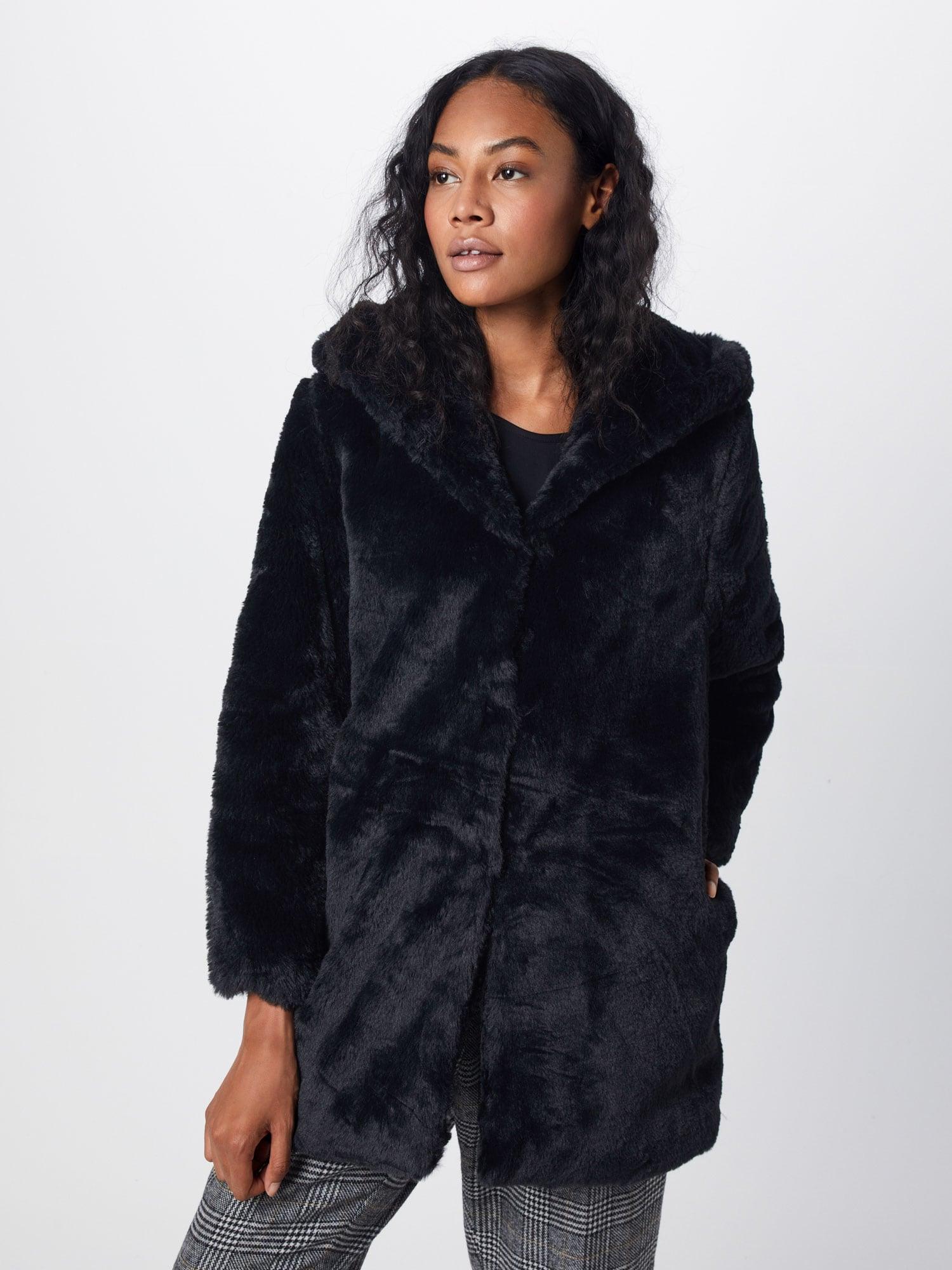 Urban Classics Zimný kabát  čierna dámské S