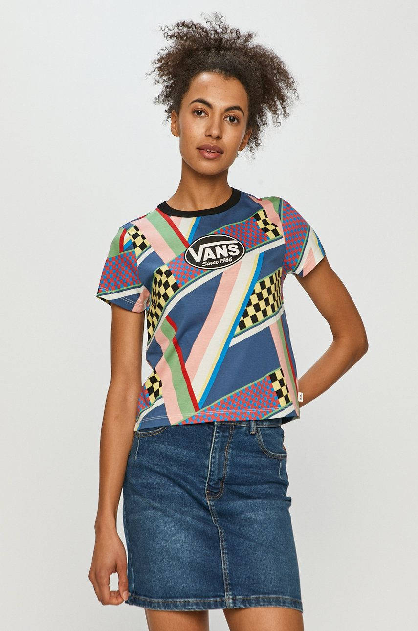 Vans - Tričko dámské viacfarebná XS