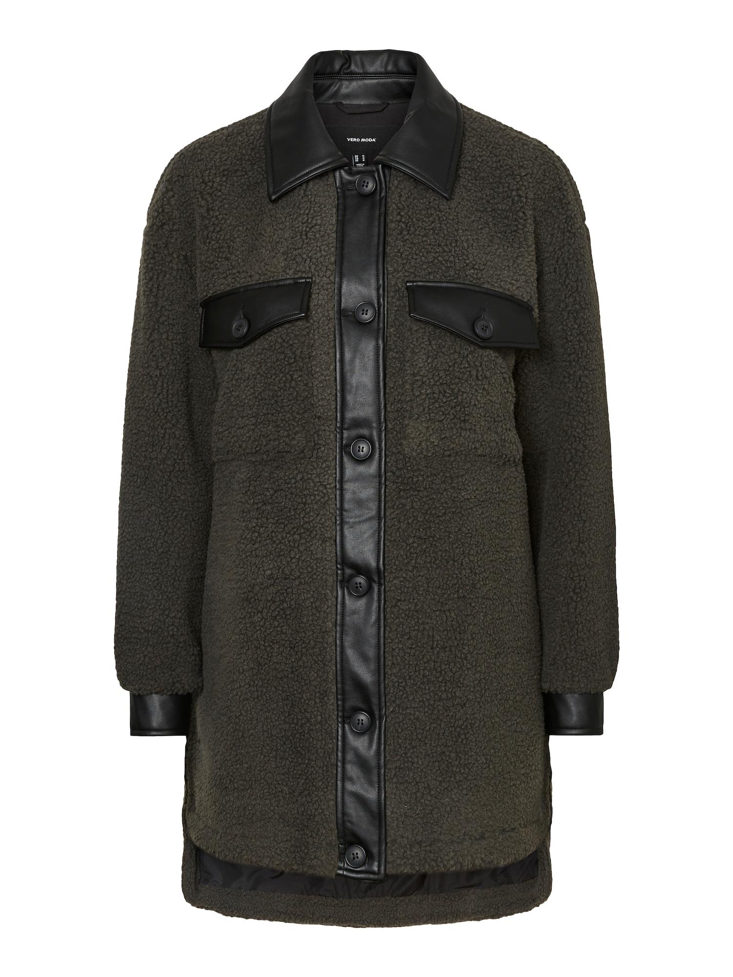 VERO MODA Prechodný kabát Hope  zelená dámské M