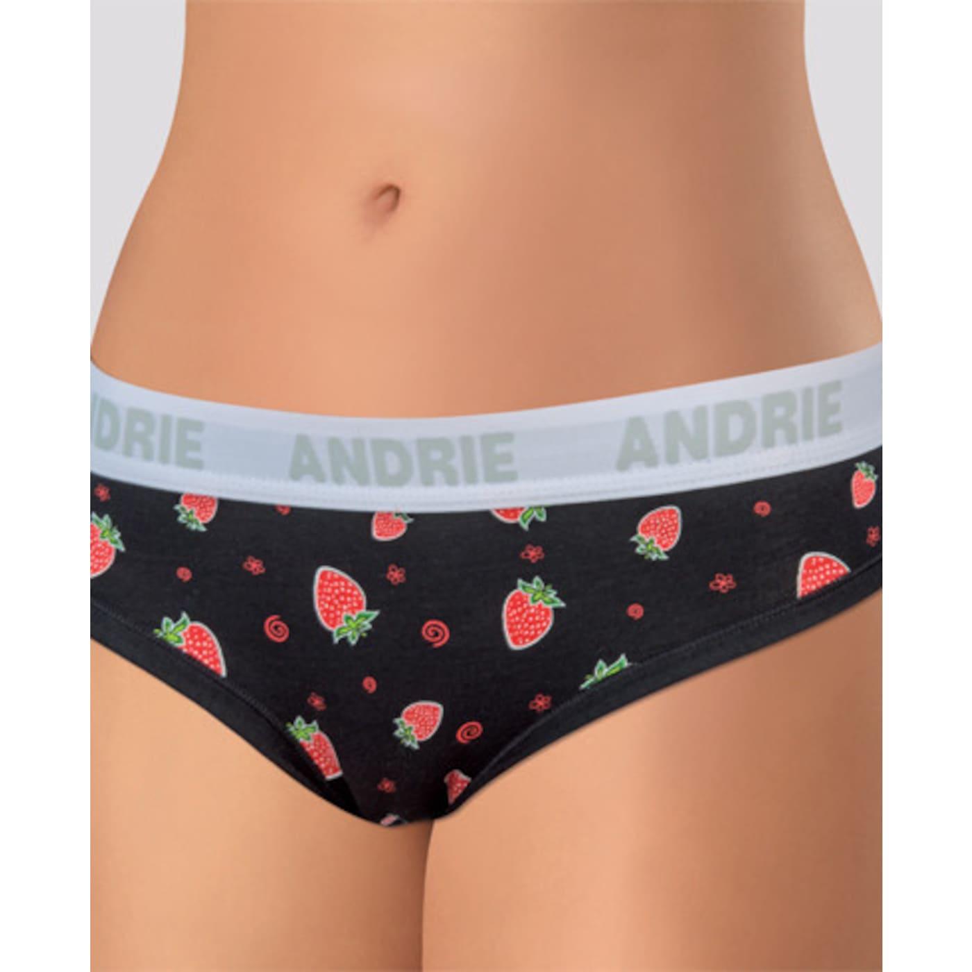 Women's panties Andrie black  dámské Neurčeno M