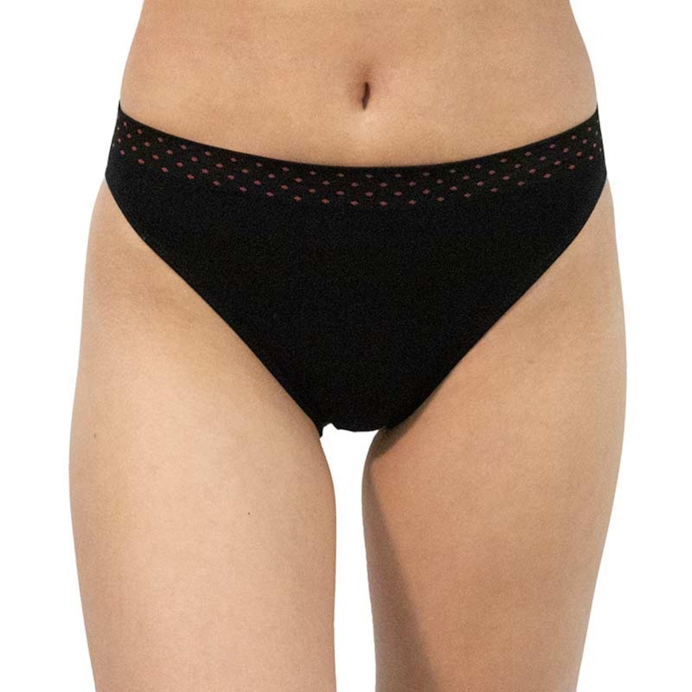 Women's panties Gina black  dámské Neurčeno M