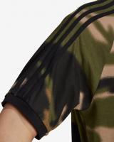 adidas Originals Camo 3-Stripes Tričko Zelená Hnedá pánské M