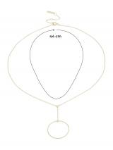 ANIA HAIE Retiazka Orbit  zlatá dámské One Size