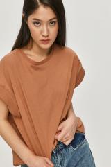 Answear Lab - Tričko dámské béžová S