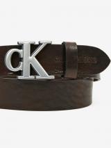 Calvin Klein Opasek Hnedá pánské 90 cm