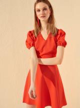 Červené šaty Trendyol - L dámské červená L