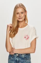 Converse - Tričko dámské biela XS