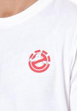 ELEMENT Tričko  biela / červená / modrá / tmavoružová / čierna pánské M