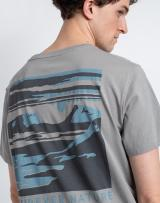 Fjällräven Torneträsk T-shirt M 016 Shark Grey XL pánské Šedá XL