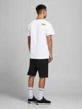 Jack & Jones Legends Tričko Biela pánské XL