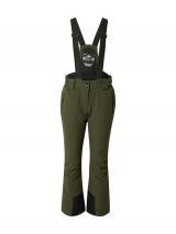 KILLTEC Outdoorové nohavice  olivová / čierna dámské M-L