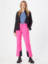 KILLTEC Outdoorové nohavice  ružová / čierna dámské S-M