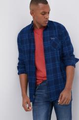 Lee Cooper - Bavlnená košeľa pánské tmavomodrá S