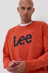Lee - Mikina pánské oranžová M
