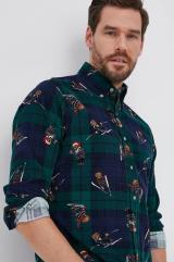 Polo Ralph Lauren - Bavlnená košeľa pánské viacfarebná L