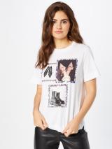 Rich & Royal Tričko  biela / zmiešané farby dámské L