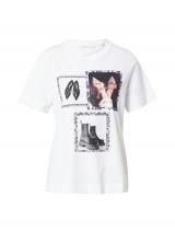 Rich & Royal Tričko  biela / zmiešané farby dámské XL