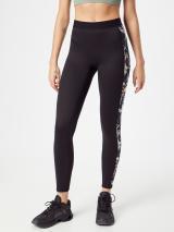 ROXY Športové nohavice FROSTED SUNSET  antracitová / tmavomodrá / biela / svetlomodrá / oranžová dámské L
