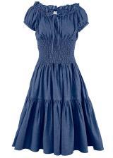 Šaty, džínsové, Carmen dámské modrá 34,36,38,40,42,44,46,48,50