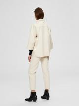 SELECTED FEMME Prechodná bunda HELENA  biely denim dámské S