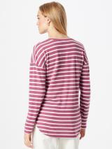 Sublevel Tričko  ružové zlato / biela dámské L