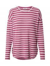 Sublevel Tričko  ružové zlato / biela dámské XS