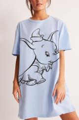 Undiz - Nočná košeľa COOLDUMBIZ dámské modrá XS