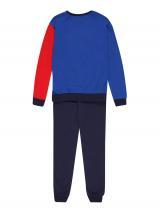 UNITED COLORS OF BENETTON Pyžamo  sivá / kráľovská modrá / tmavomodrá / melónová / zmiešané farby pánské 90