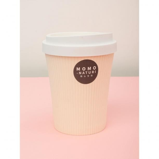 Ecru small plastic trash can in the shape of a cup Neurčeno One size