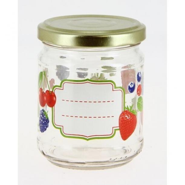 Mäser Sada zaváracích pohárov Ovocie 200 ml, 6 ks