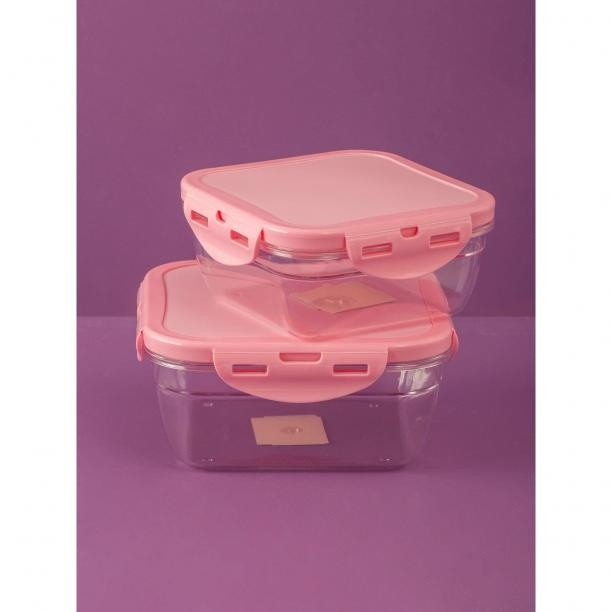 Pink food container Neurčeno One size