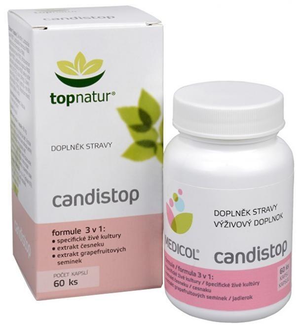 Topnatur Candistop 60 kapsúl