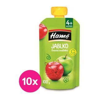 10 x HAMÁNEK Ovocná desiata jablko 100 g