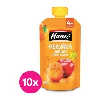 10 x HAMÁNEK Ovocná desiata marhuľa 100 g