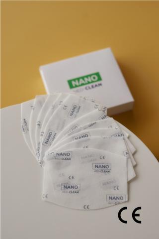 10x NANO MED.CLEAN filter - B03/biela f00014