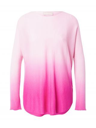 120% Lino Sveter  ružová / ružová dámské XS