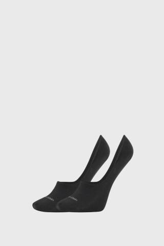 2 PACK dámskych ponožiek Calvin Klein Jessica čierne dámské ČIERNA 35-38