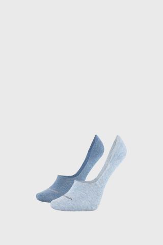 2 PACK dámskych ponožiek Calvin Klein Jessica modré dámské modrá 35-38