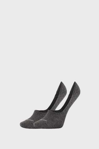 2 PACK dámskych ponožiek Calvin Klein Jessica sivé dámské šedá 35-38