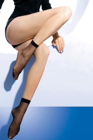 2 PACK pančuchových ponožiek LAR 15 DEN dámské daino uni