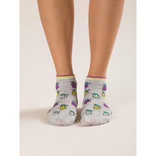 2 pairs of gray women´s socks with print dámské Other 35-40