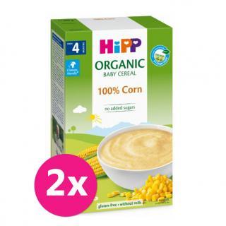 2x HiPP BIO Prvá obilná kaša - 100 % kukuričná od uk. 4. mesiaca, 200 g