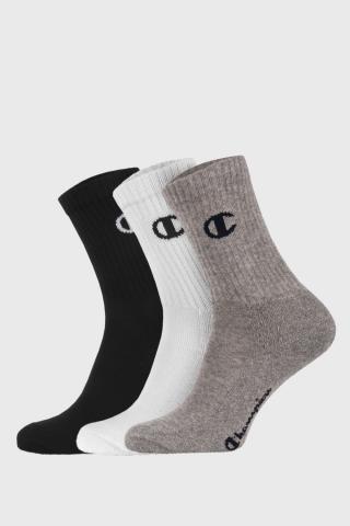 3 pack športových basic ponožiek Champion farebná 35-38